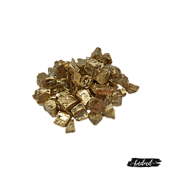 Craft Glass Resin Stones - Champagne Gold
