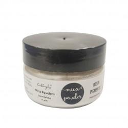 CrafTangles Metallic Mica / Pearl Pigment Powders 15 gms - Satin White