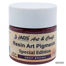 Resin Art Pigment - Deep Brown (20 ml)