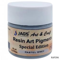 Resin Art Pigment - Pastel Grey (20 ml)