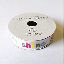 American Crafts Ribbon - Shine