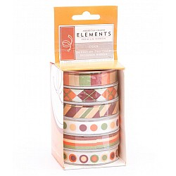American Crafts Elements Premium Ribbon - Cider