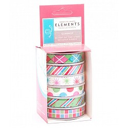 American Crafts Elements Premium Ribbon - Gumdrop