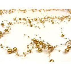 Strings of pearls - Golden