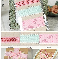 Enogreeting Fall in Love with Ribbon - Design 3