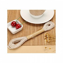 Colored Jute Twine - Natural White