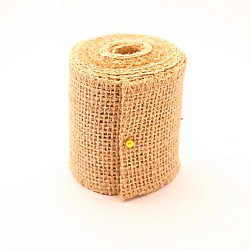 Plain Jute or burlap Ribbon