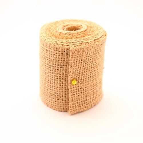 Plain Jute or burlap Ribbon