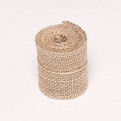 Natural Jute or burlap Ribbon (2.5 inch)