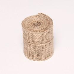 Natural Jute or burlap Ribbon (2.5 inch)