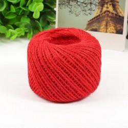 Jute Cord - Natural Red (50 metres)