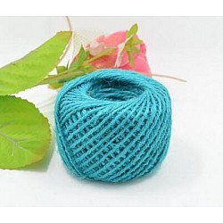 Jute Cord - Light Blue (50 metres)
