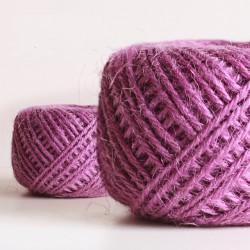 Jute Cord - Purple (50 metres)