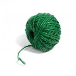 Jute Cord - Dark Green (50 metres)