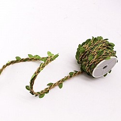 Jute rope with Leaves (10 mtrs)