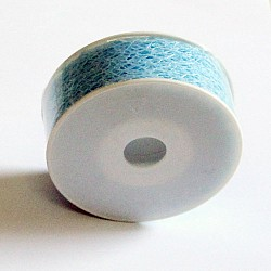 Mesh Ribbon Small - Sky Blue