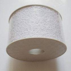 Mesh Ribbon Large - White