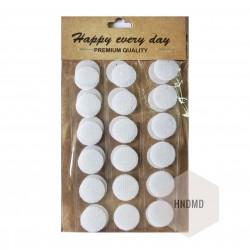 Adhesive Velcro Dots (Large)
