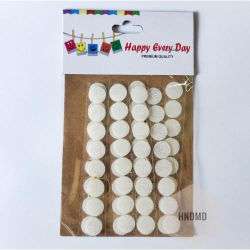 Adhesive Velcro Dots (Small)
