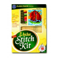 Anchor Stitch Kit - High Spirits (19cm x 21cm)