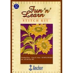 Anchor Stitch Kit - Sunflower (12cm x 14cm)
