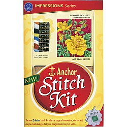 Anchor Stitch Kit - Summer Bounty (22cm x 25cm)