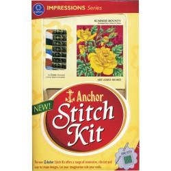 Anchor Stitch Kit - Summer Bounty (22cm x 25cm)