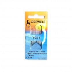 Pony Gold Eye Crewels Sewing Needle Range - Size 8