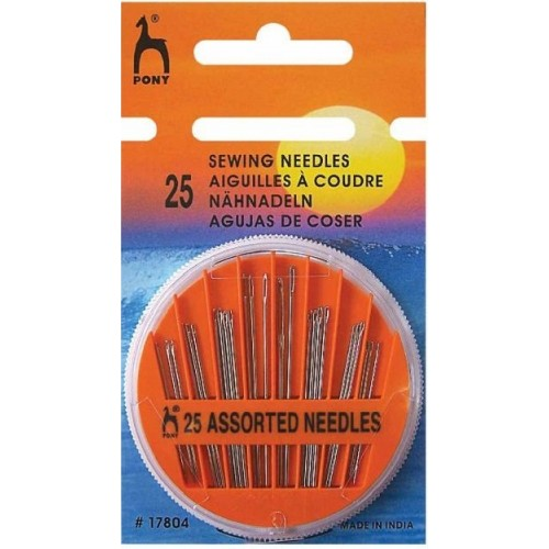 Pony Assorted Sewing Needles - 25