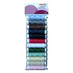 Sewrite 12 Spools Polyester Threads
