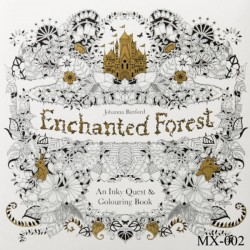 Adult colouring Book - Enchanted Forest
