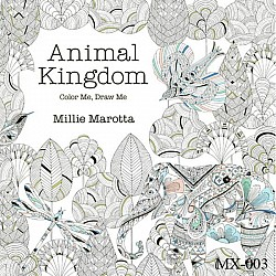 Adult colouring Book - Animal Kingdom