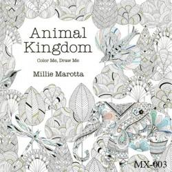 Adult colouring Book - Animal Kingdom