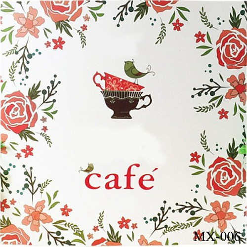 Adult colouring Book - Cafe