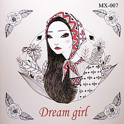 Adult colouring Book - Dream Girl