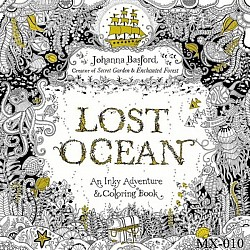 Adult colouring Book - Lost Ocean