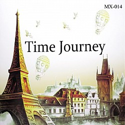 Adult colouring Book - Time Journey