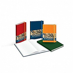 Campap 160 pages Explorer Ruled Notebook (A5 size)