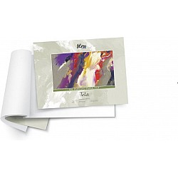 Campap Oil painting paper pad (canvas grain, tela) (A3 size)