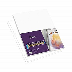 Campap 300 gsm, Watercolour paper pack (100% Cellulose cold pressed ) - A4 size