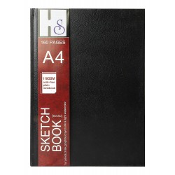 HS A4 hardbound sketchbook (110 gsm)
