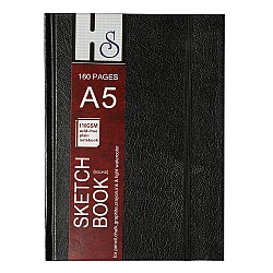 HS A5 hardbound sketchbook (110 gsm)