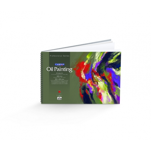 Campap Professional Oil Color Painting (229X305 mm)