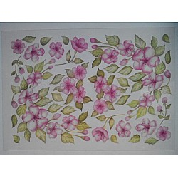 Shilpi Transparent Sospeso / Volume Decoupage Sheet - Pink Beauty
