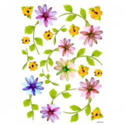 JAGS A4 Sospeso Sheet - Floral Design 15