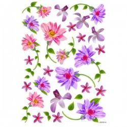 JAGS A4 Sospeso Sheet - Floral Design 1