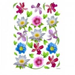 JAGS A4 Sospeso Sheet - Floral Design 2