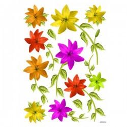 JAGS A4 Sospeso Sheet - Floral Design 3