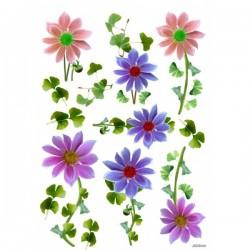 JAGS A4 Sospeso Sheet - Floral Design 4