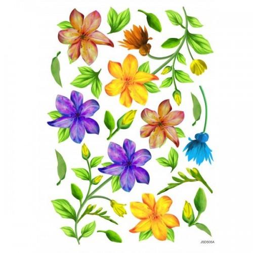 JAGS A4 Sospeso Sheet - Floral Design 5